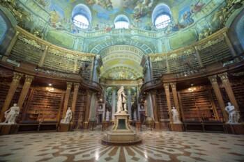 Prunksaal der Österreichischen Nationalbibliothek, Wien