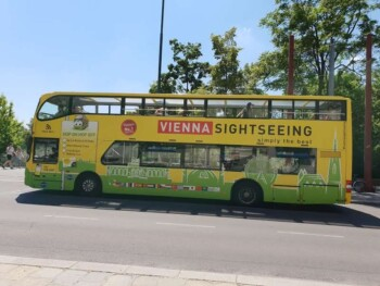Vienna Sightseeing Hop On Hop Off Bus Tour, Wien